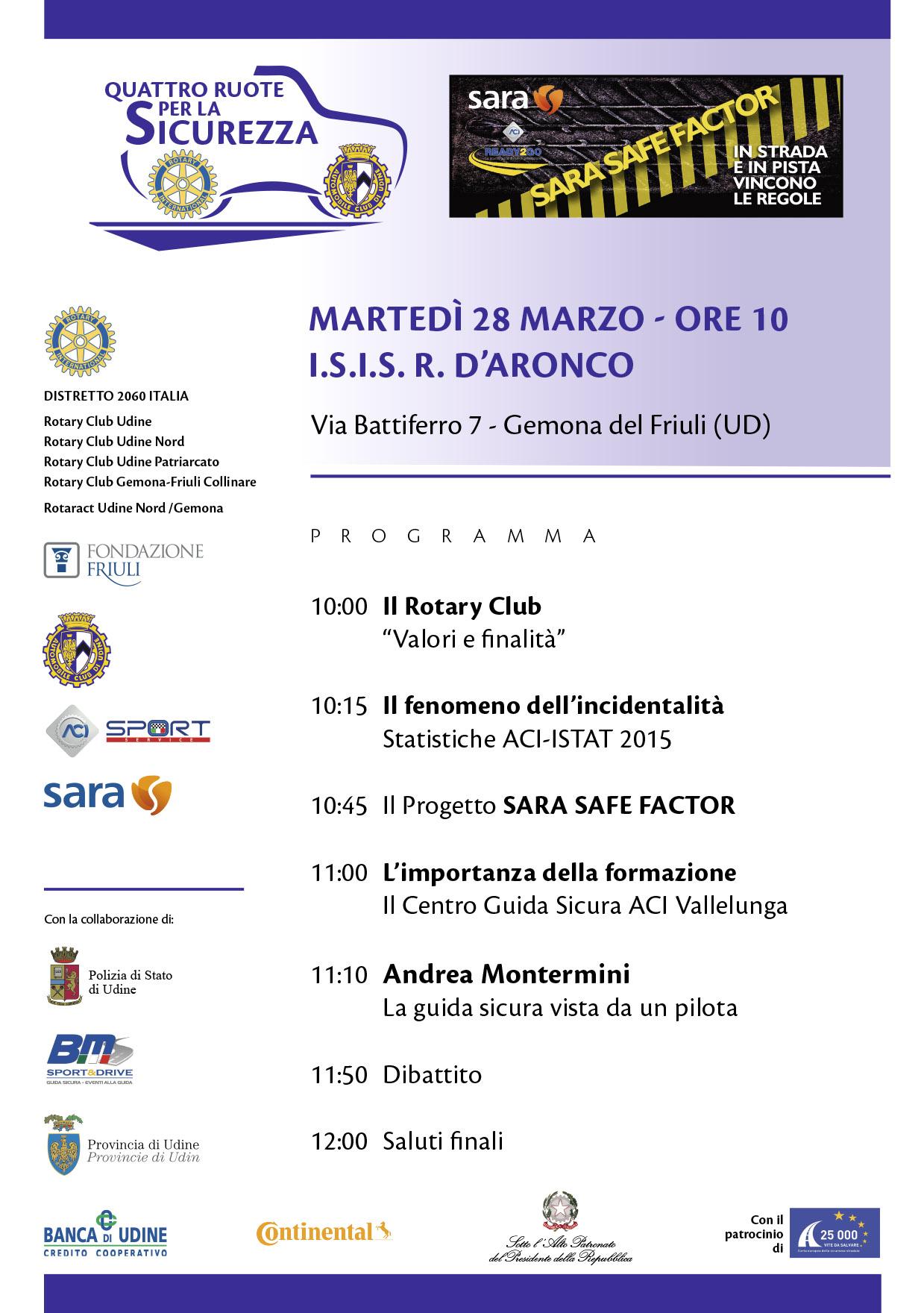 QUATTRO RUOTE_SICUREZZA_GEMONA_programma