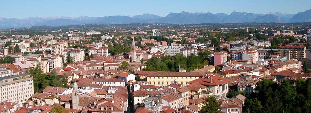 Veduta di Udine dal Castello