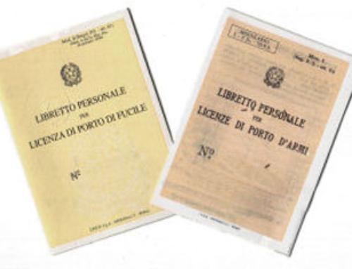 Rilascio certificato medico per porto d'armi presso le Delegazioni ACU
