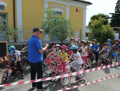 """Corso per piccoli """"ciclisti"""" alla scuola di S. Osvaldo"""