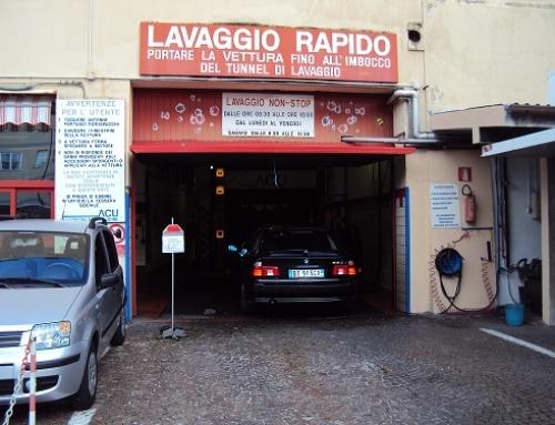 Autolavaggio di via Crispi: chiusura per manutenzione