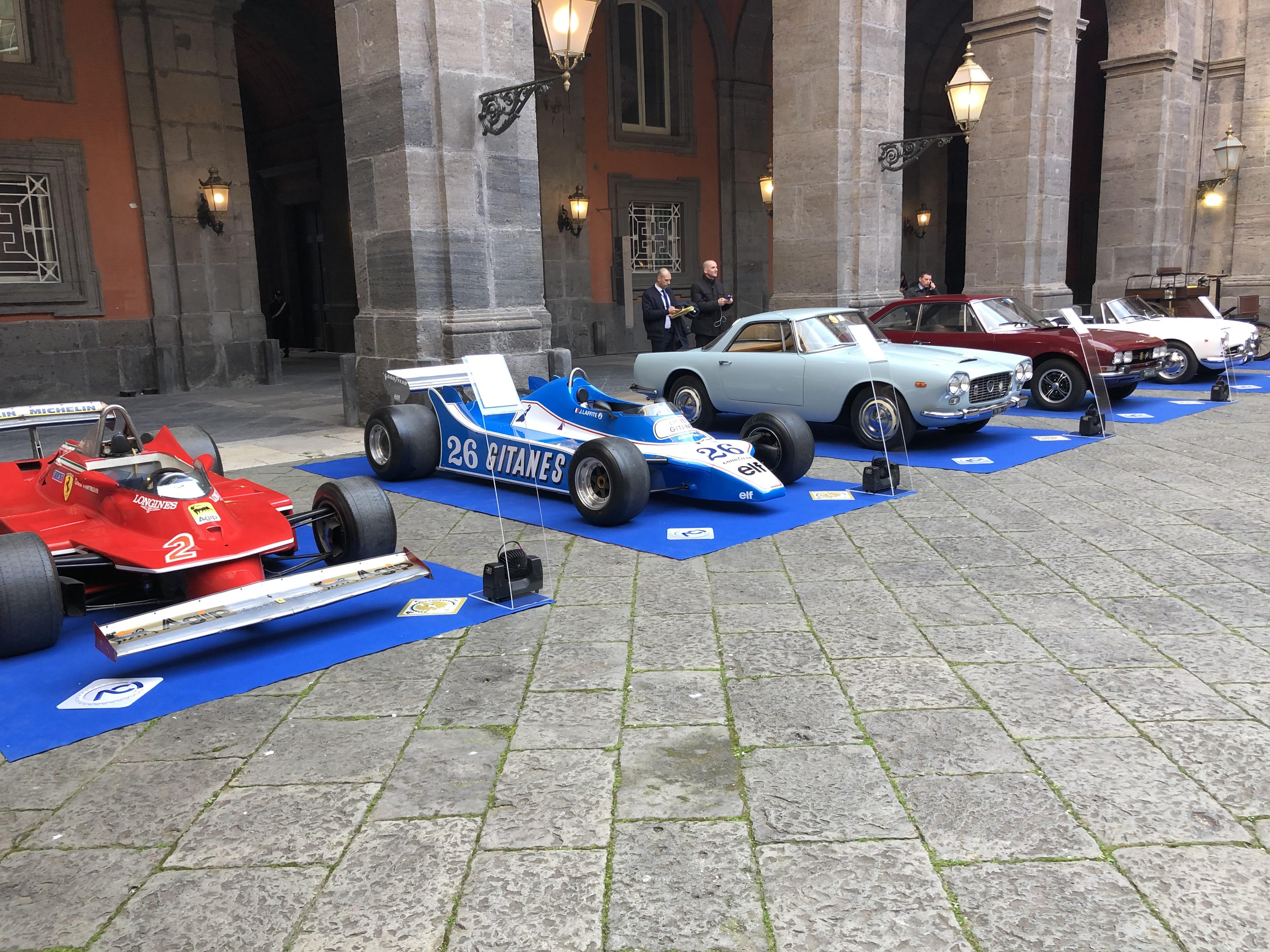 ACI e MAUTO: mostra d'auto d'epoca a Napoli  in occasione del vertice Italo-Francese